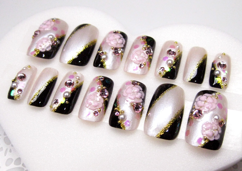 siseil | Rakuten Global Market: Japanese nail tip Quinceanera nail ...
