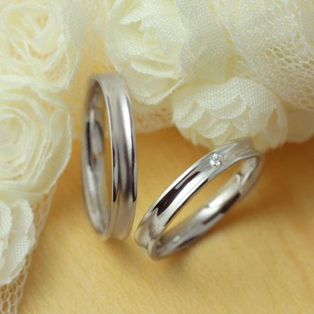 【 送料無料 】プラチナ PT Pt マリッジリング・結婚指輪 ペアリング XN033 K18 刻印   システィーナ 結婚 結婚式 ペア リング レディース メンズ マリッジ ジュエリー K18 18金 贈り物 プレゼント