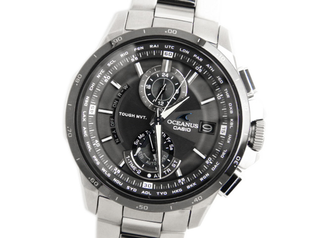 カシオ メンズ腕時計 オシアナス OCW-T1010-1AJF 【中古】【あす楽対応_東海】【コンビニ受取対応商品】