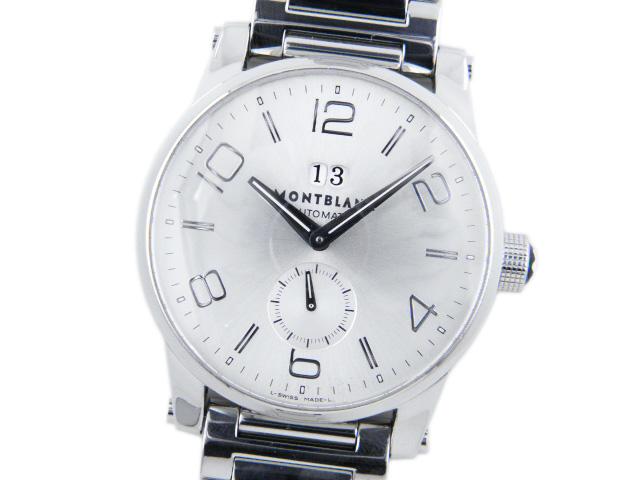 モンブラン メンズ腕時計 タイムウォーカー ビッグデイト MB35420 【中古】【あす楽対応_東海】【コンビニ受取対応商品】