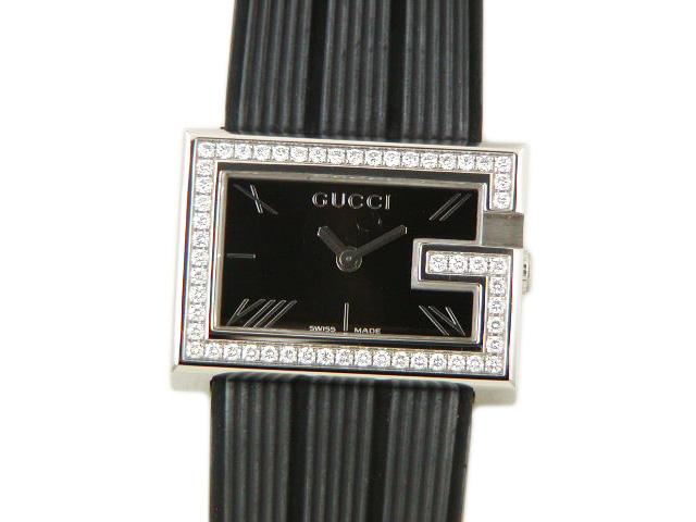 グッチ レディース腕時計 100L ダイヤベゼル 【あす楽対応_東海】【中古】【コンビニ受取対応商品】