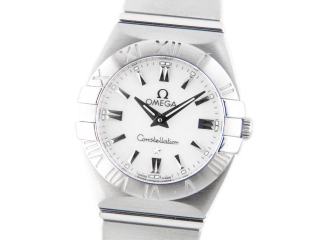 オメガ レディース腕時計 コンステレーション ブラッシュ 123.10.27.60.05.001 【あす楽対応_東海】【中古】【コンビニ受取対応商品】