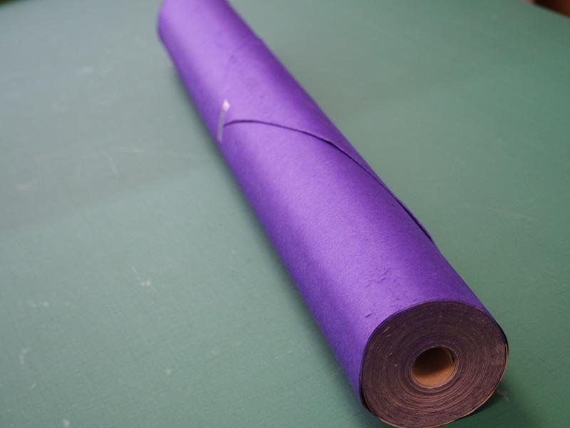 襖の下貼り紙 紫漉き合せ巻 漉き合わせ 新着 裏紙 裏打ち 人気の製品 下貼り