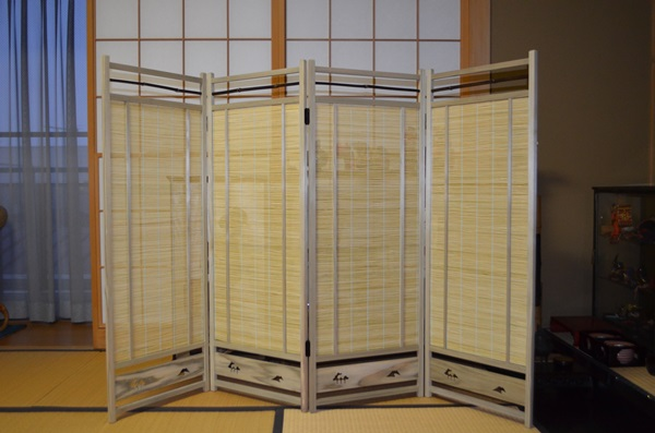 siturai Rakuten Global Market Blinds byobu folding screens