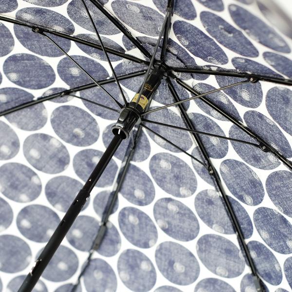 SUR MER(シュールメール)コットン折り畳み日傘(日本製)/透かし水玉(バンブー 綿 紫外線対策 折りたたみ シュルメール SURMER ギフト プレゼント 母の日)
