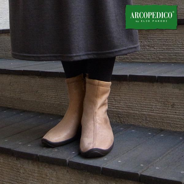 ARCOPEDICO(アルコペディコ)L'ライン L8ショートブーツ