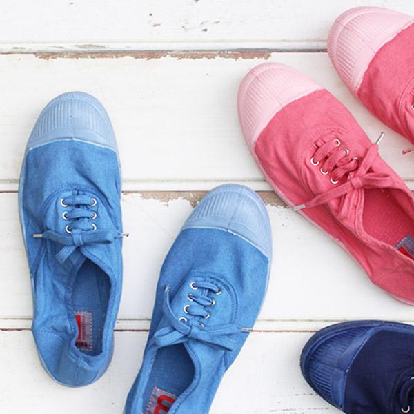 725c3909d5f0e5 Bensimon (BENSIMON) Tennis Lacet Colorsole (limited edition color sort /  women's / sneakers ...