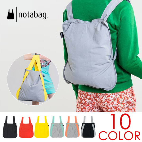 notabag (not a bag) BAG &BACKPACK (bags & backpack) Luc tote bags shopping bags collapse repellent water bike...