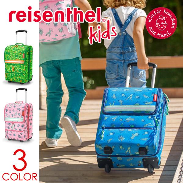 黑麦然后柑油(reisenthel)TROLLEY XS KIDS(torori XS小孩)(小孩小孩轱辘轱辘地买旅行箱推车飞翔距离推车的旅行旅行反射器)