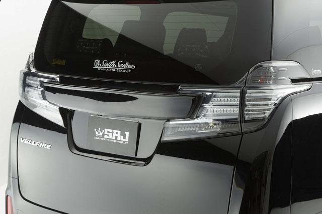 30ヴェルファイア前期 リアゲートウイング ABS製未塗装素地        【シックスセンス ショップ】