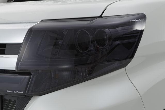 LA600タントカスタム ヘッドライトカバー スモーク
