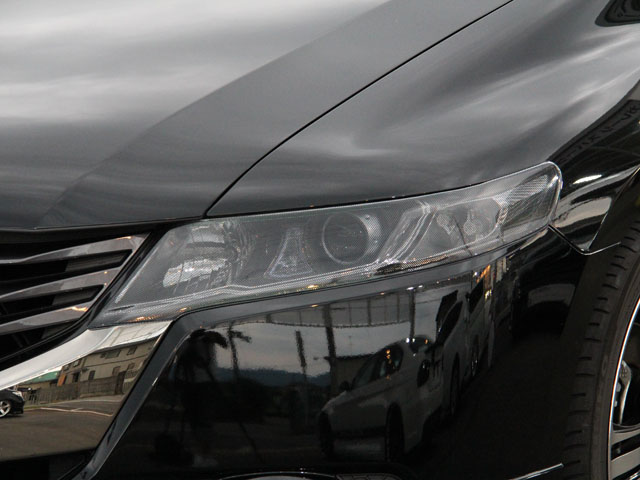 RB3/4オデッセイ用ヘッドライトカバー ライトスモーク(ノーマル/ドット仕様)  【シックスセンス ショップ】
