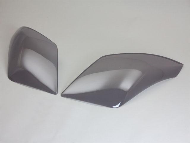 MH23SワゴンRヘッドライトカバー ライトスモーク(ノーマル/ドット仕様)  【シックスセンス ショップ】