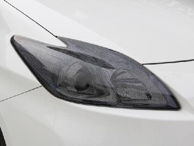 30プリウス後期用ヘッドライトカバー ライトスモーク(ノーマル/ドット仕様)  【シックスセンス ショップ】