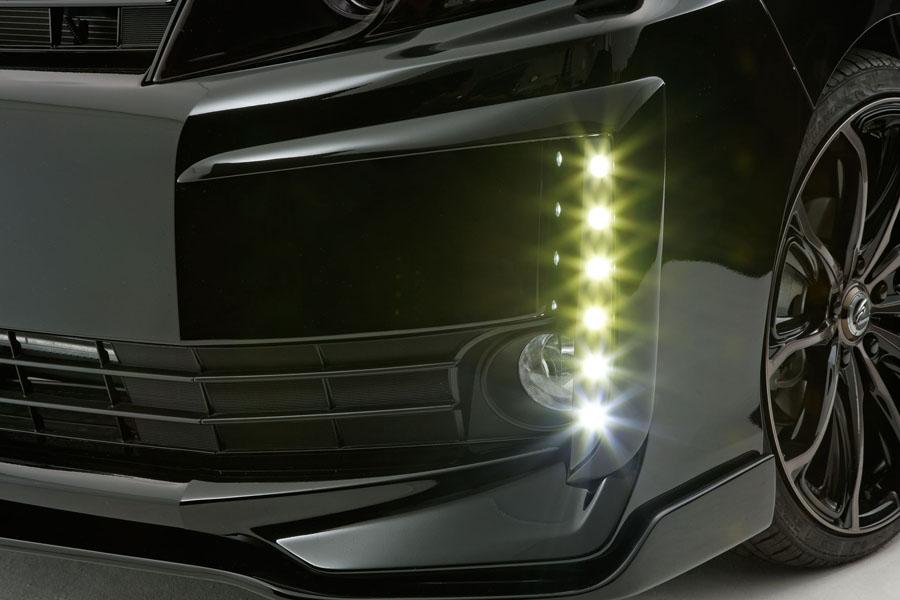 80 VOXY 80ヴォクシー V/Xグレード用 純正バンパー用LEDデイライトキット 前期専用