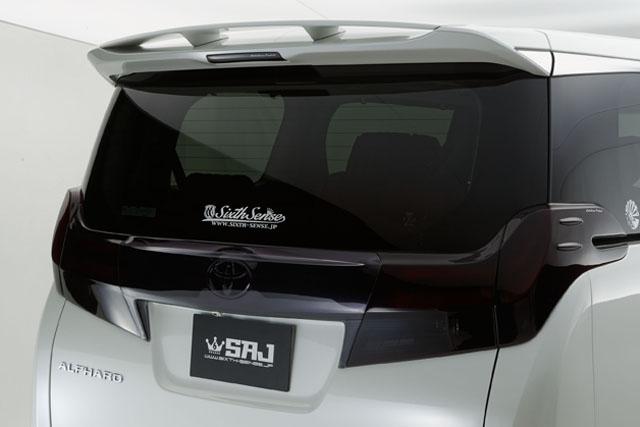 30系アルファード リアゲートウイング ABS製未塗装素地