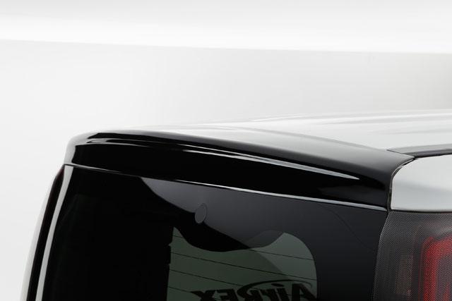 80エスクァイア用 リアウイング ABS製 艶有りソリッドブラック  【シックスセンス ショップ】