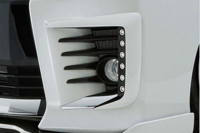 80VOXY(ヴォクシー) ZSグレード用 純正バンパー用LEDデイライトキット 純正色塗装済み!  【シックスセンス ショップ】