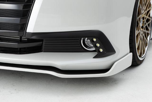 80 ノア 80NOAH G/Xグレード用 純正バンパー用LEDデイライトキット 前期専用