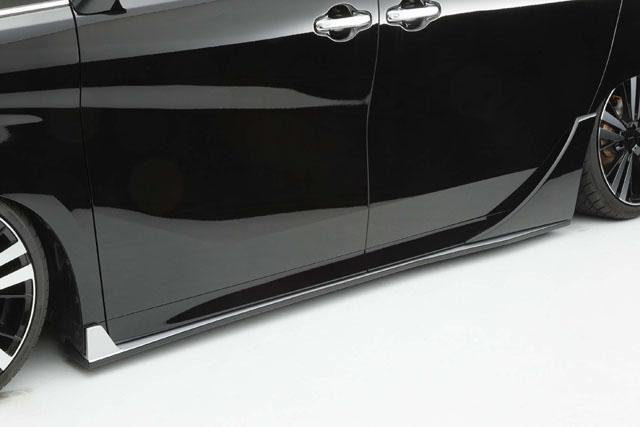 30系ヴェルファイア Zグレード サイドステップ&リアドアパネルセット   【シックスセンス ショップ】