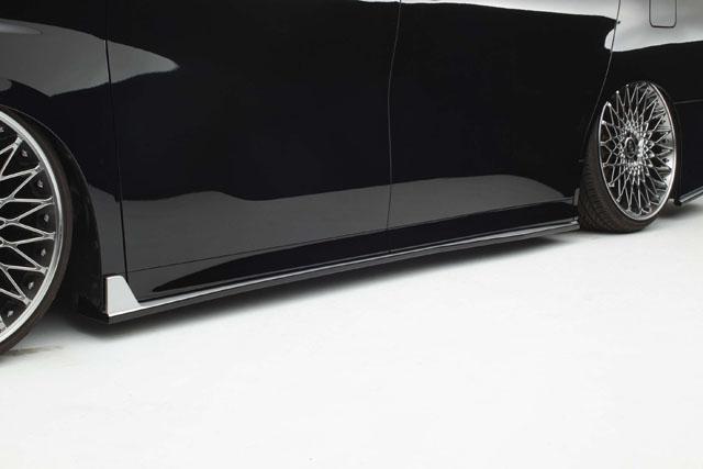 30系アルファード Sグレード サイドステップ 純正色塗装済み!(2色塗り分け)   【シックスセンス ショップ】