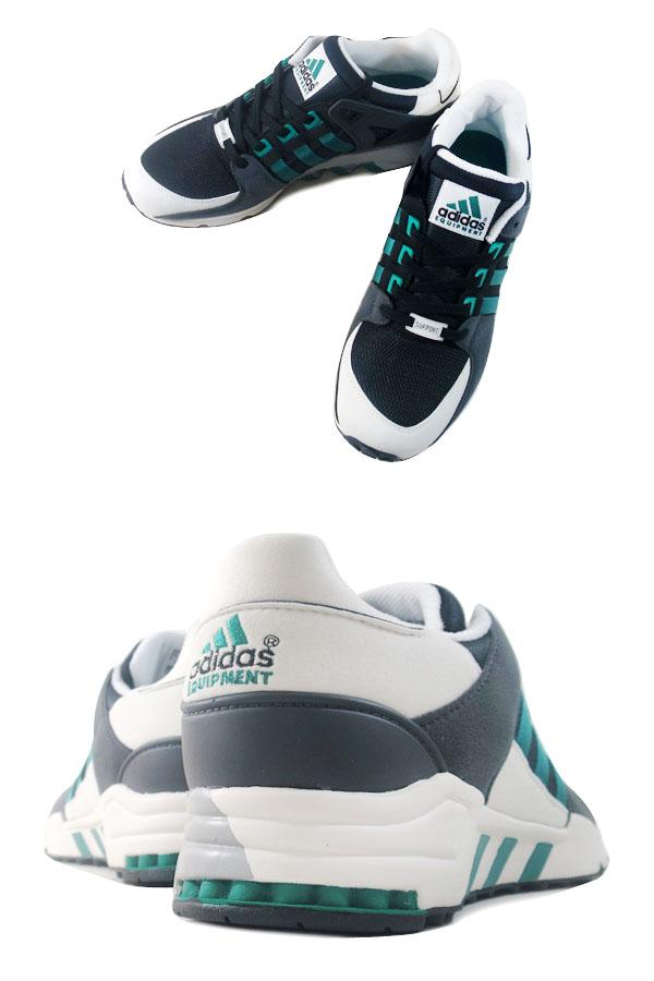 adidas EQT RUNNING SUPPORT阿迪达斯EQT跑步支援CORE BLACK/SUB GREEN/WHITE VAPER