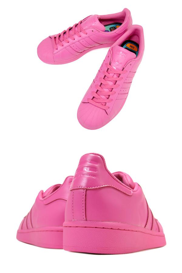 adidas SUPERSTAR SUPERCOLOR阿迪达斯大明星超级市场彩色包SEMI SOLAR PINK