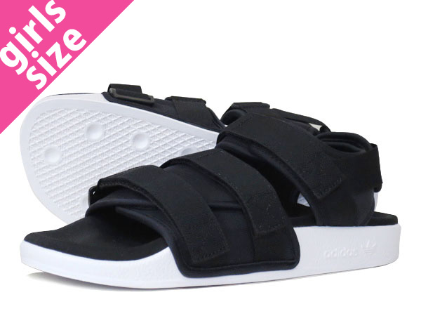 827e366ddbdbe1 LOWTEX PLUS  adidas ADILETTE SANDAL W BLACK WHITE  adidas Originals ...