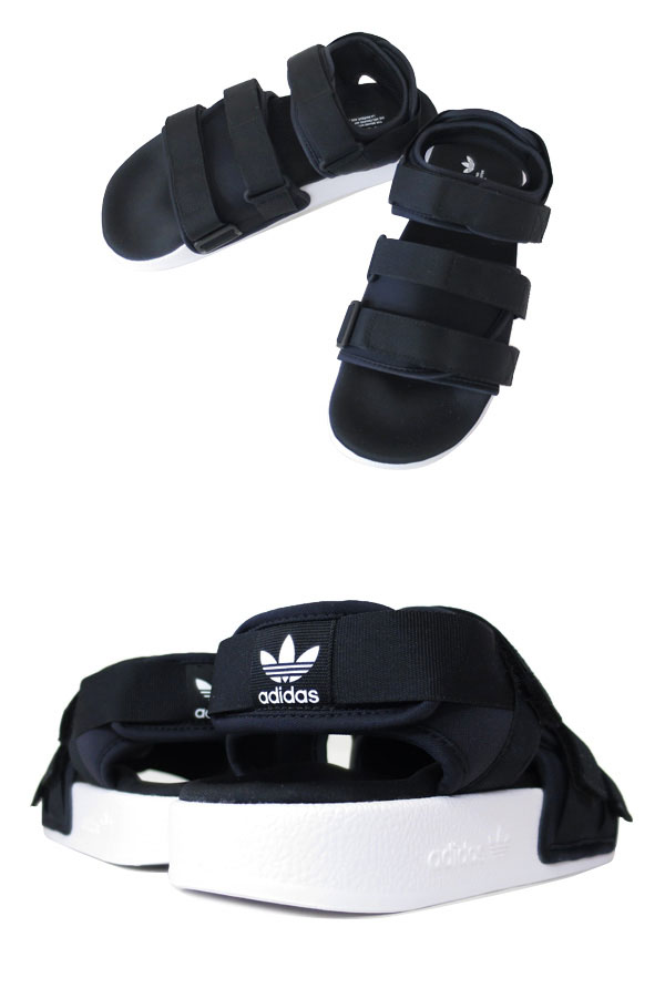 best sneakers 65f82 d56cc adidas ADILETTE SANDAL W BLACKWHITE adidas Originals