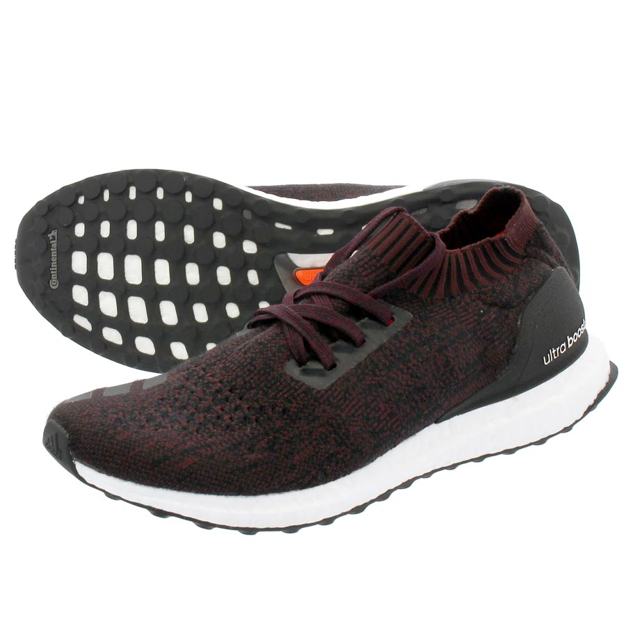 adidas ULTRA BOOST UNCAGED Adidas ultra boost Ann caged wool CORE BLACK DARK  BURGUNDY c740600ab0