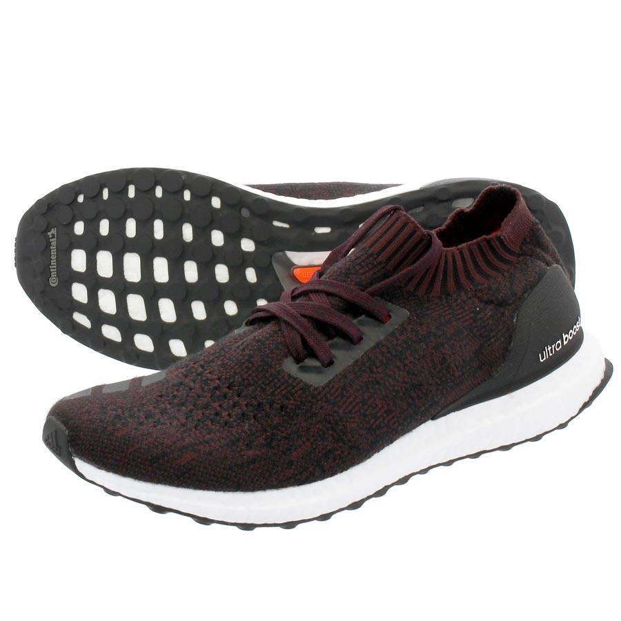 adidas ULTRA BOOST UNCAGED Adidas ultra boost Ann caged wool CORE BLACKDARK BURGUNDY