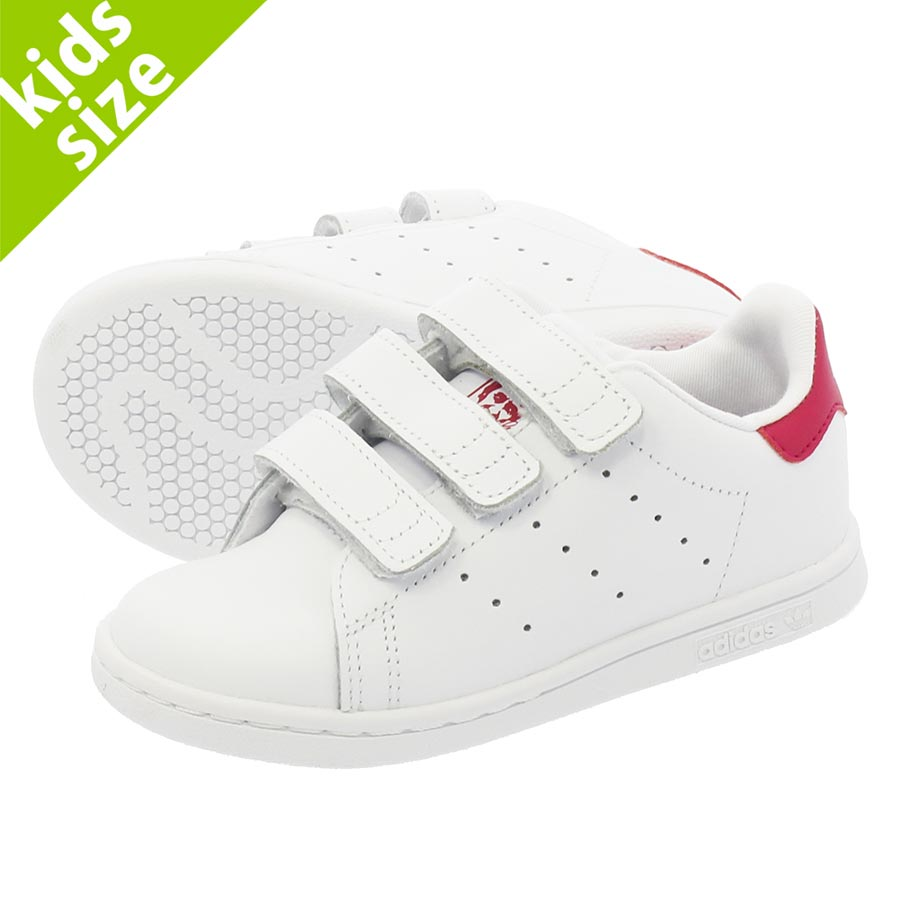 adidas STAN SMITH CF I Adidas Stan Smith CF I RUNNING WHITE/RUNNING WHITE/BOLD PINK