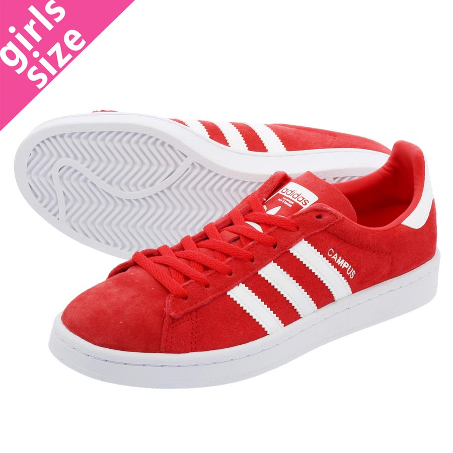reputable site b151c b9770 adidas CAMPUS W Adidas women campus RAY RED RUNNING WHITE RUNNING WHITE