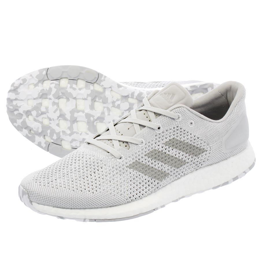 1d23b9aae2f6a8 LOWTEX PLUS  adidas PURE BOOST DPR LTD Adidas pure boost DPR LTD RUNNING  WHITE MID GREY SOLID GREY