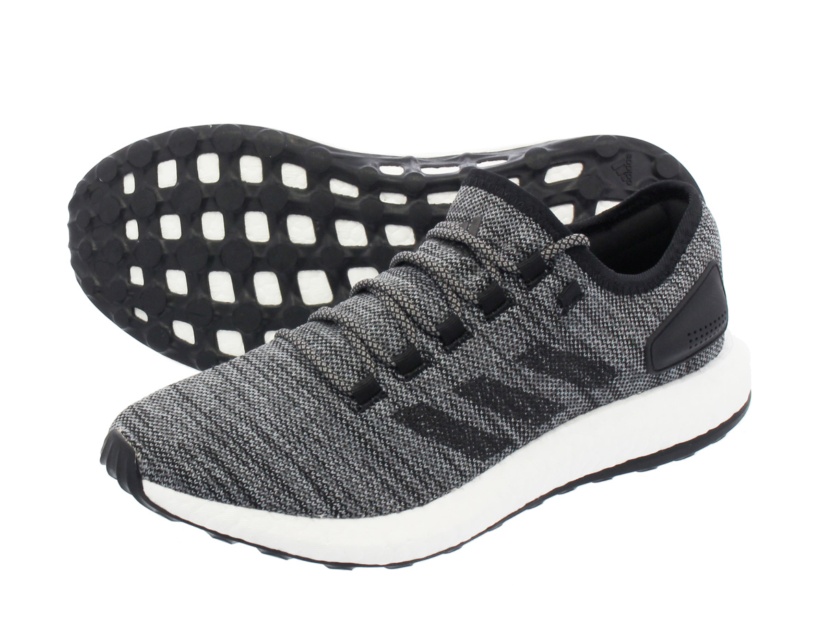 adidas PURE BOOST ATR アディダス ピュア ブースト ATR CORE BLACK/CORE BLACK/GREY THREE