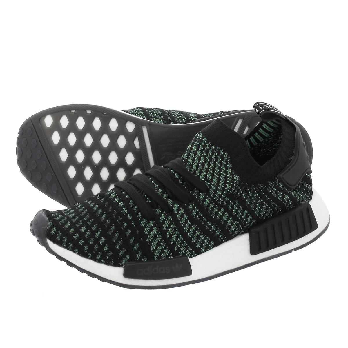 【毎日がお得!値下げプライス】 adidas NMD_R1 STLT PK アディダス NMD R1 STLT PK CORE BLACK/NOBLE GREEN/BOLD GREEN aq0936