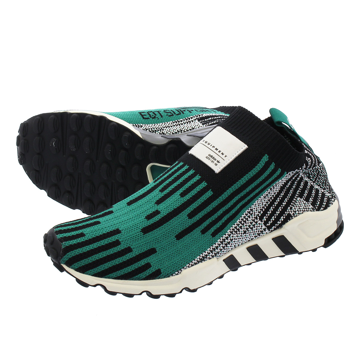 the latest ef8e8 9dc8f adidas EQT SUPPORT PK 3/3 Adidas EQT support prime knit 3/3 CORE BLACK/SUB  GREEN/RUNNING WHITE b37523