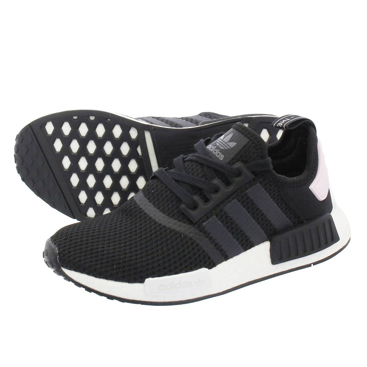 quality design ee1be 9b057 adidas NMD_R1 W Adidas NMD_R1 women CORE BLACK/RUNNING WHITE/CLEAR PINK  b37649