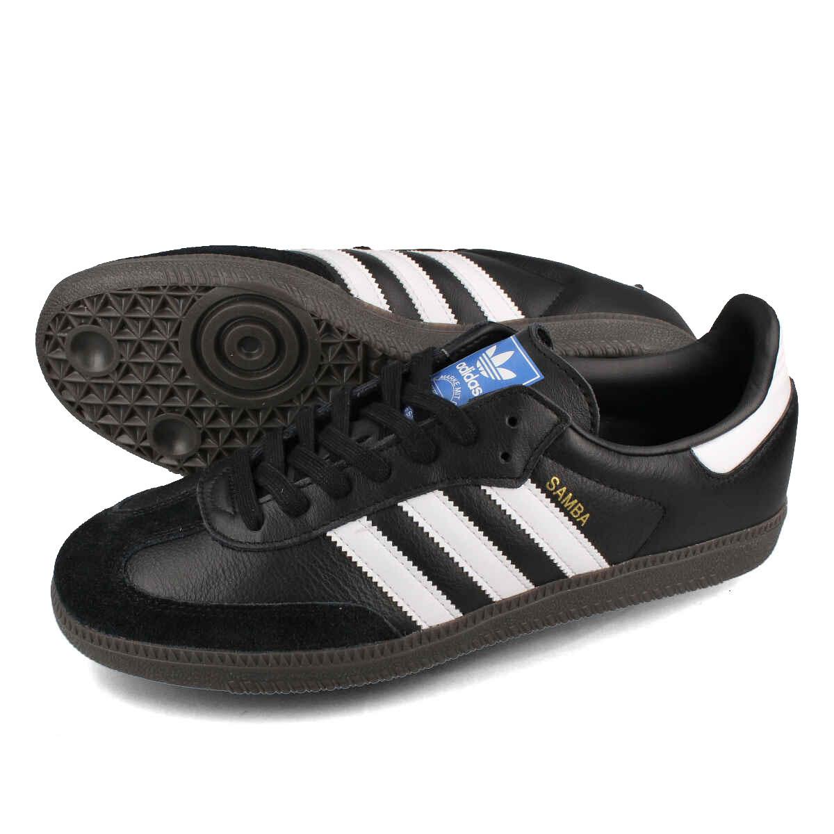 adidas SAMBA OG 【adidas Originals】 アディダス サンバ OG CORE BLACK/RUNNING WHITE/GUM