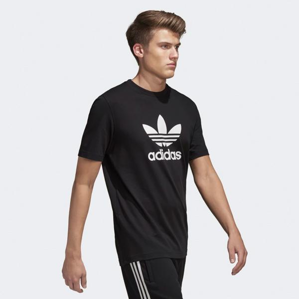 cheap for discount b6b73 dc7ea adidas TREFOIL TEE アディダストレフォイル T-shirt BLACK
