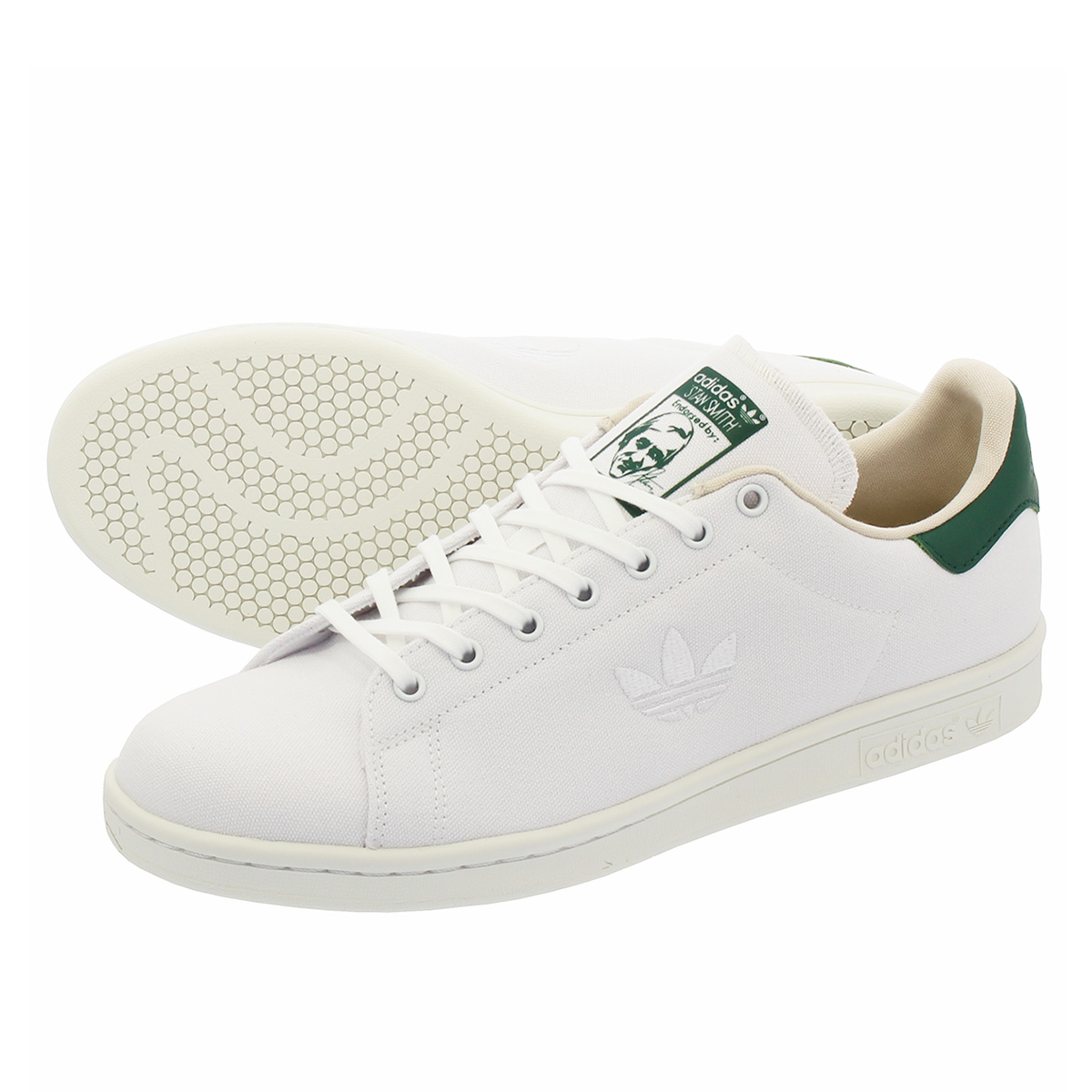 newest 8ae27 71f2b adidas STAN SMITH Adidas Stan Smith RUNNING WHITE/RUNNING WHITE/COLLEGE  GREEN d96737