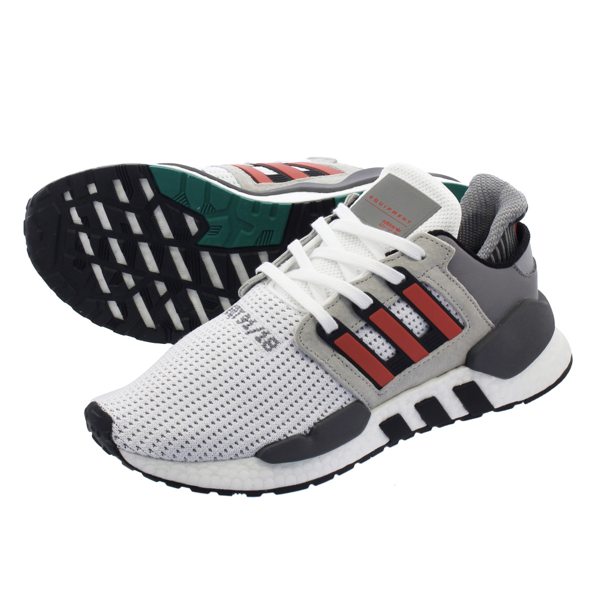 adidas EQT SUPPORT 91/18 アディダス EQT サポート 91/18 RUNNING WHITE/HI-RES RED/GREY ONE b37521