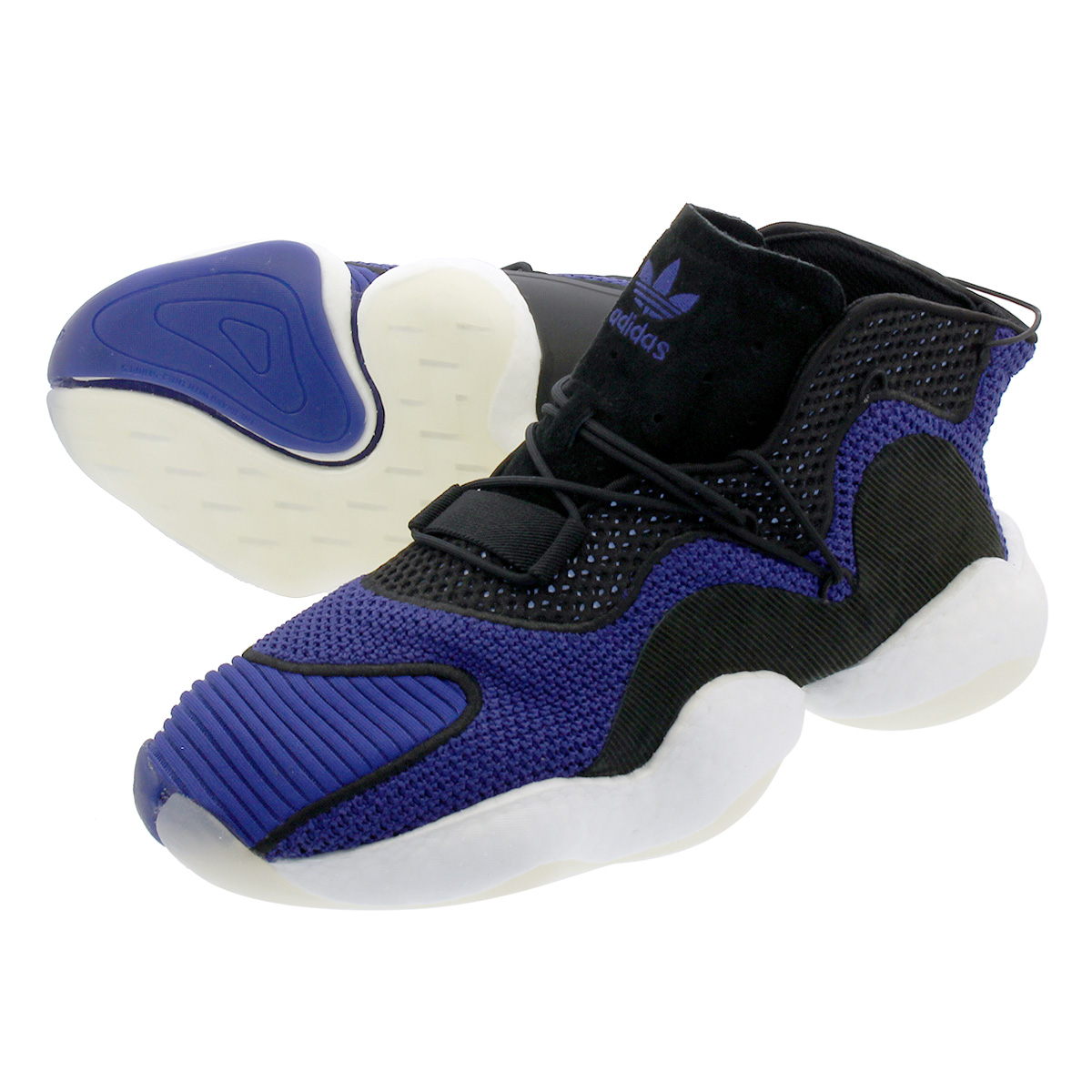291c641f9079 adidas CRAZY BYW LVL I Adidas crazy BYW LVL I REAL PURPLE CORE BLACK RUNNING  WHITE b37550