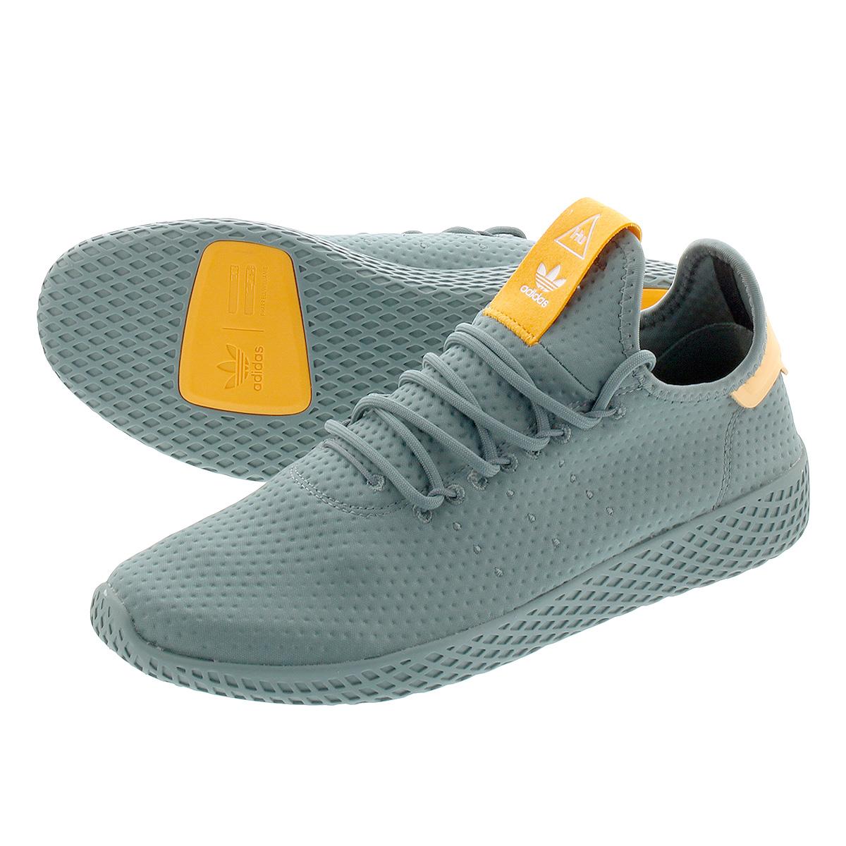 adidas PW TENNIS HU 【adidas Originals x PHARRELL WILLIAMS】 アディダス ファレル ウィリアムス テニス HU RAW GREEN/OFF WHITE b41808