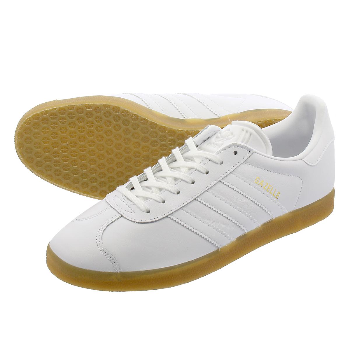 adidas GAZELLE 【adidas Originals】 アディダス ガッツレー ガゼル RUNING WHITE/RUNNING WHITE/GUM bd7479