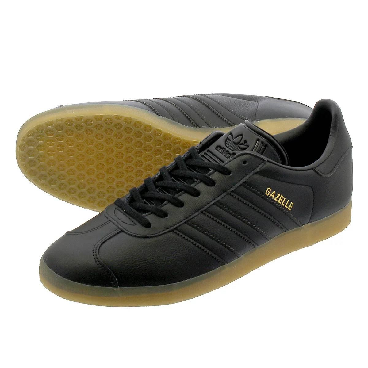 adidas GAZELLE 【adidas Originals】 アディダス ガッツレー ガゼル CORE BLACK/CORE BLACK/GUM bd7480