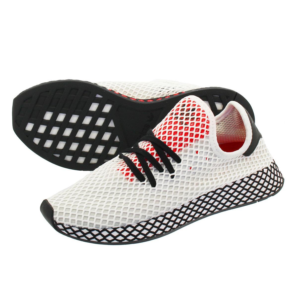 4def51da7 adidas DEERUPT RUNNER アディダスディーラプトランナー RUNNING WHITE CORE BLACK SHOCK RED  db2686
