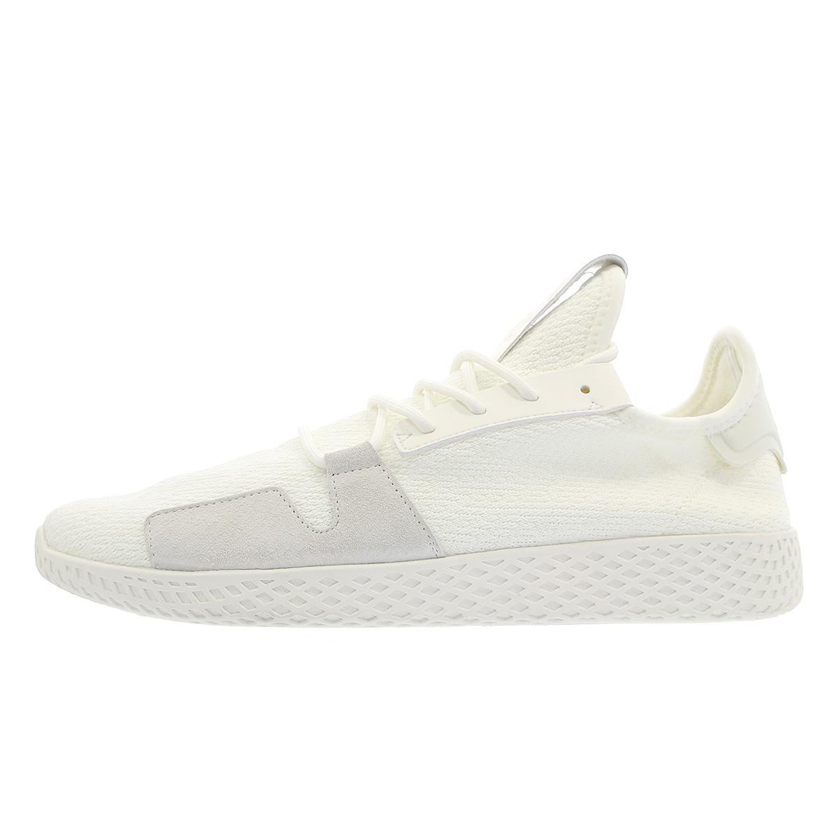 adidas PW TENNIS HU V2 Adidas Farrell Williams tennis HU V2 OFF WHITEOFF WHITECORE BLACK