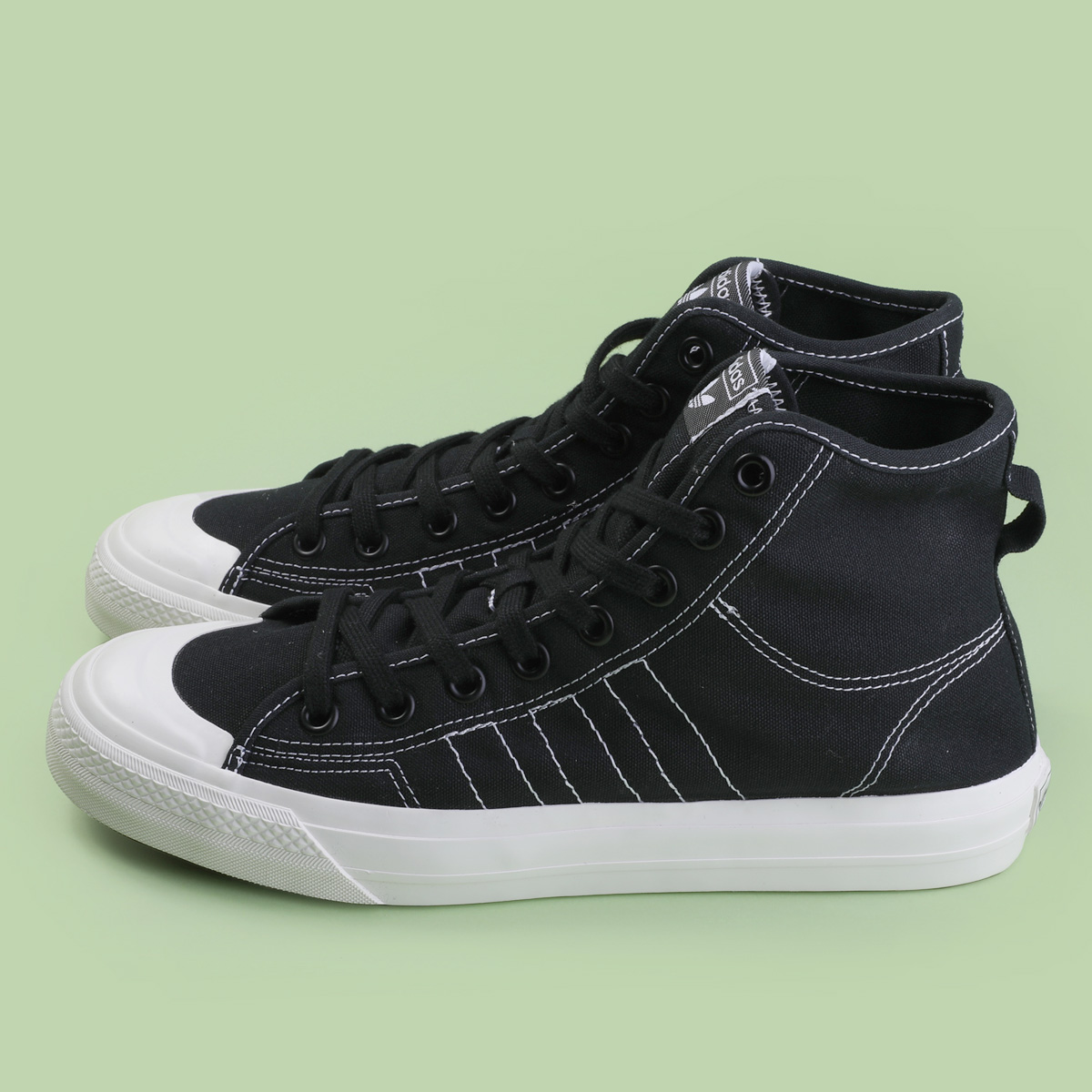 adidas Nizza Hi RF shoes black