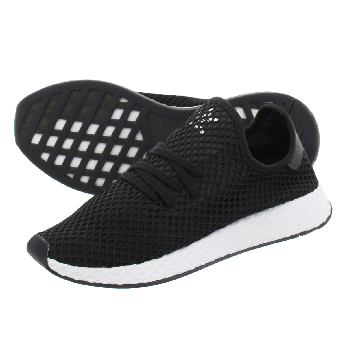 adidas DEERUPT RUNNER KICKS LAB. アディダス ディーラプト ランナー キックスラボ 【KICKS LAB. EXCLUSIVE】 CORE BLACK/CORE BLACK/RUNNING WHITE